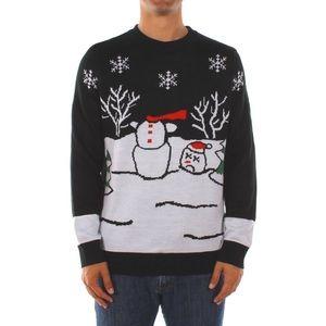 Tipsy Elves Headless Snowman Sweater